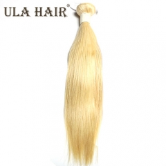 Ula Hair 13A #613 Straight Hair 1Bundles/Lot Human Hair Extensions 14-24inches