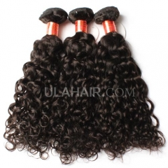 Ula hair 13A 4pcs lot brazilian virgin hair Italy Curly hair mixed inches virgin hair soft human hair weave