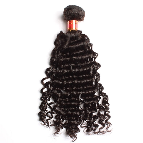 【12A 1PCS】Deep Wave Hair Virgin  Malaysian Hair Malaysian Deep Wave Hair Hair Bundle