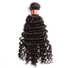【12A 1PCS】Deep Wave Hair Virgin  Peruvian Hair Peruvian Deep Wave Hair Hair Bundle