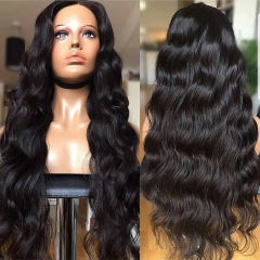 【In stock】13A Lace Front Wigs 150% Density Body Wave Virgin Hair 13x4 Lace Frontal Human Hair Wigs
