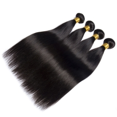【13A 4PCS】 4pcs/lot brazilian virgin hair Straight mixed inches virgin hair soft straight brazilian human hair extensions