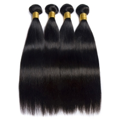 【13A 4PCS】 4 Bundles Lot  Malaysian Straight Virgin Hair Pretty Soft Mixed Length Virgin Hair Malaysian Human Hair Extensions