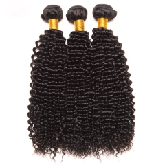 【13A 4PCS】 Deep Curly Malaysian Virgin Hair Human Malaysian Curly Hair Bundles Mixed Length Natural Color