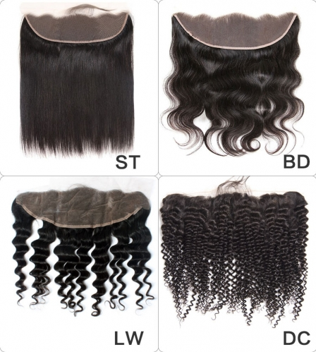 【13A】Wholesale Frontal Closure 10PCS