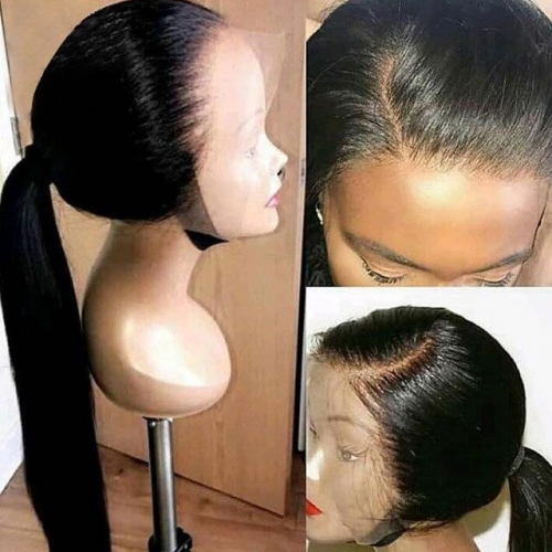 【In stock】13A Lace Front Wigs 150% Density Straight Virgin Hair 13x4 Lace Frontal Human Hair Wigs For Black Women Hair