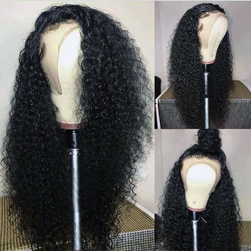 【In stock】13A Curly 13x6 Lace Front Wigs 150% Density Lace Frontal Virgin Human Deep Curly Hair Lace Wigs ULW04