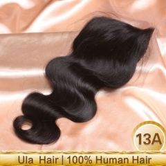 Ula Hair Brazilian Virgin Hair Lace Closure Body Wave Brazilian Closure Human Hair Lace Brazilian Wavy Closure