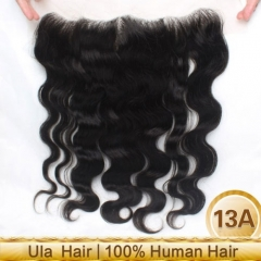 Ula Hair 13*4 Lace Frontal Body Wave Closure Virign Hair Body Wave Human Hair
