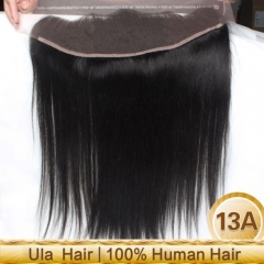Ula Hair 13*4 Lace Frontal Straight Closure Virign Hair Straight Human Hair