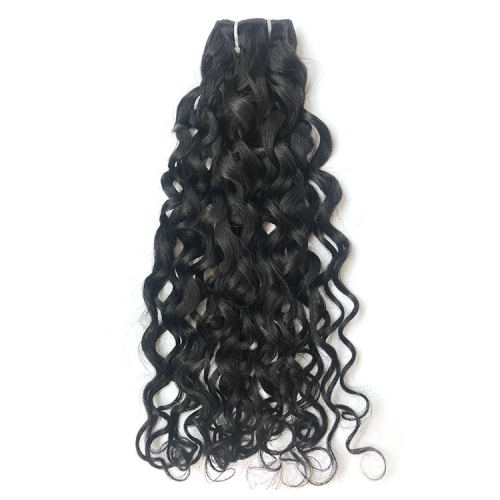 【12A 1PCS】Italy Curl Hair Virgin Peruvian Hair Extensions Nature Color Peruvian Italy Curl Hair Human Hair Bundle