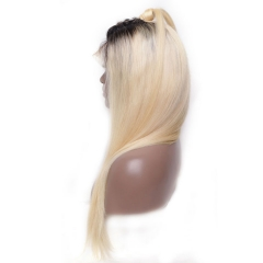 13A 1b/613# Straight Hair Full Lace Wig 180% density Customize Wig 7 working days