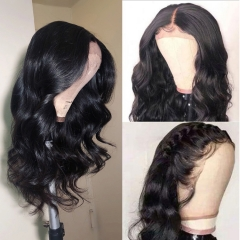13A 30inch HD Lace Wig with 13*4 Closure 250% Density Body Wave Virgin Human Hair Undetectable Transparent Swiss Lace Closure Wigs ULHD05