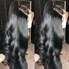 【In stock】13A Body Wave 13x6 Lace Front Wigs 180% 150% Density Virgin Hair Lace Frontal Big Parting Lace Human Hair Wigs