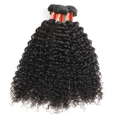 【12A 4PCS】Deep Curly Brazilian Hair Bundles Deep Curly Virgin Human Hair No Shedding No Tangle Free Shipping