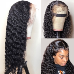 13A 30inch Deep Wave 13*4 HD Lace Frontal Closure Wigs 250% Density Undetectable Lace Wigs ULHD06