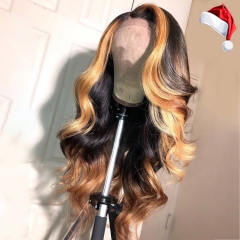 【New Arrival!】13A Mix color Ombre Color 13x6  Body Wave Highlight/ 13x4 Red Black 99J/1B#  Loose Wave Wig/ 13x6 Blonde Black 613/1B# Loose Wave Wig UL