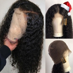 13A Deep Curly Full Lace Wigs 200% 180% 150% Density Virgin Hair Full Lace Human Hair Wigs ULW15