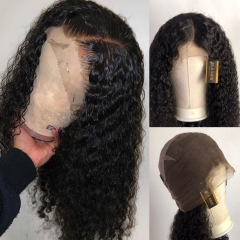 13A Deep Curly Full Lace Wigs 200% 180% 150% Density Virgin Mongolian Culry Hair Full Lace Human Hair Wigs ULW15