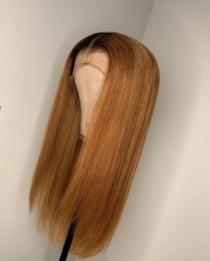 【New Arrival!】13A Straight Bob 1b/30 4*4 Closure Wig 250% density Straight Hair Customize 3 Days
