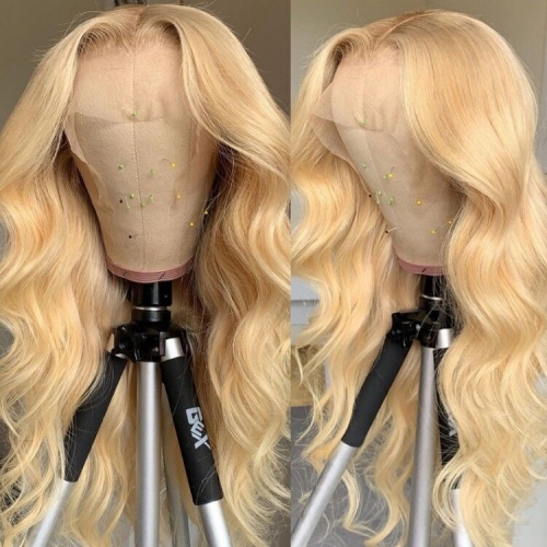 13A 613# 250% density Straight, Body Wave Lace Frontal Closure Wig Virgin Human Hair Lace Wig Customize 3 days ULW28