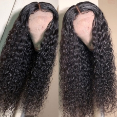 【HD Lace】13A Deep Wave HD Lace 250% density Lace Closure Wig Virgin Human Hair Customize 3 days ULW34