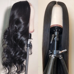 【Affordable】13A 250% Density 30inch 2*6 Lace Closure Wig Virgin Human Hair Customized 3 Days ULW39