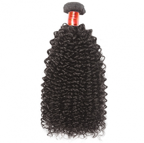 【12A 1PCS】Kinky Curly Virgin Peruvian Hair 100% Unprocessed Human Hair Bundles