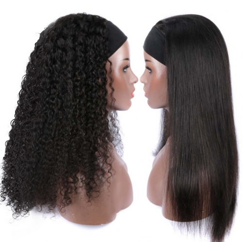 【Special offer❤】13A 250% Density Headband Wig NO GLUE NO SEW IN, One Order Get Two Wigs With 14 Pcs Headband Gifts ULHB02