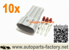 longyue 10set Alternator male connector nippon denso and mitsubishi oval Harness Toyota Suzuki