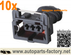 longyue 10kit Map Fuel Injector Socket Durite Multiple Connectors Junior Power Timer Jpt Connector