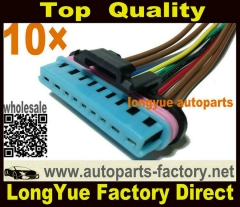 longyue 10pcs 97-03 Powerstroke 7.3 7.3L Ford Valve Cover Gasket connector pigtail harness