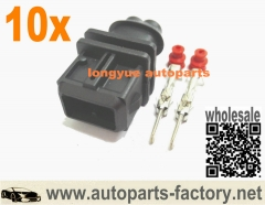 longyue 10Kit Male Injector Connector EV1 Plug