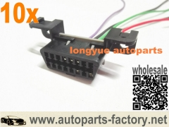 "longyue 10pcs 12"" GTO 05-06 OBD2 Pigtail Connector EFI connections Part No 100-00457"