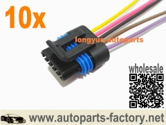 longyue 10pcs GM 5-Wire MAF sensor pigtail to fit MAF #25168491, 25138411 or 15904068 8""