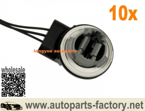 longyue 10pcs Mercury Ford Lincoln Front Parking Light Bulb Socket Standard S-1869
