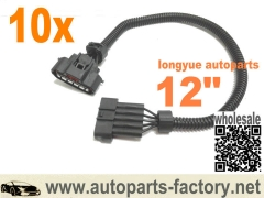 longyue 10pcs MAF Sensor Extension Harness - DENSO MAF Sensor 12