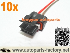 longyue 10pcs 88-92 TPI TBI LT1 V6 Corvette Camaro Firebird Alternator Wiring Harness Connector 6""