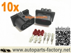 longyue 10set Fans Connector Plug VW Jetta Golf GTI MK4 Beetle Audi TT Mk1 / 8N