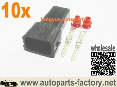 longyue 10set Male OBD2 RC DSM Fuel Injector Connector Honda Acura Civic Integra S2000