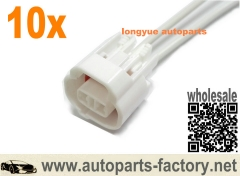 longyue 10pcs Toyota Lexus 1UZ 1UZFE 1UZ-FE VSV Vacuum Switching Valve Connector Left Keyway