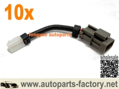 10pcs Nissan Convert Hitachi T Shaped Alternator To SL Adapter Plug - Hitachi IR/EF Alternators 6""