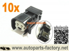 10pcs Honda Obd2 To Ev6 Fuel Injector Adapter S2000 Civic Si Accord Vtec F20C F22C1