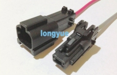 longyue 10set GM 1-way KET connector pigtail wiring harness male and female kit