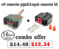 EV6 Wire Connector Pigtail &  Repair Connector Kit (pack of 10 each)