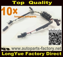 longyue 10pcs 97-03 Powerstroke 7.3 7.3L Ford Under Valve Cover Fuel Injector VC Glow Plug Harness