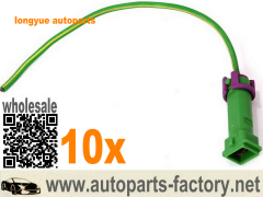 longyue 10pcs AC Compressor Wiring Plug Pigtail case for 97-00 Audi A4 Passat Connector 6""