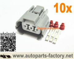 longyue 10set VSS Speed Sensor Plug Connector Integra Accord Civic Acura Honda