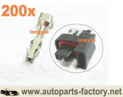 longyue 200pcs GM Terminals For MFP mini Fuel Injector Connector (707773087350)