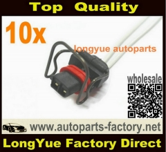 longyue 10pcs Ford 7.3 L PowerStroke Valve Cover 2 Wire injector Pigtail 6""